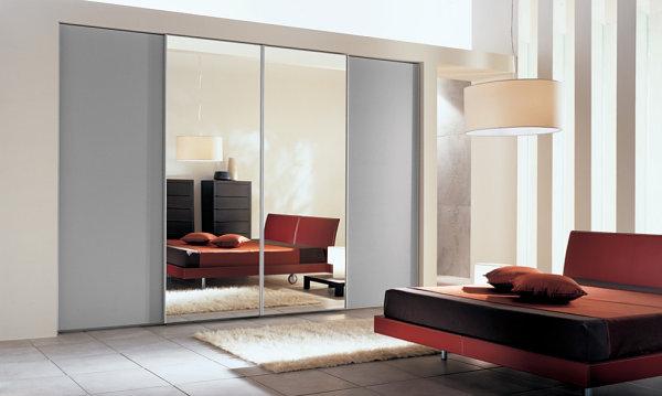 10 armarios de puertas correderas con espejo decorar hogar - Armarios modernos para dormitorios ...