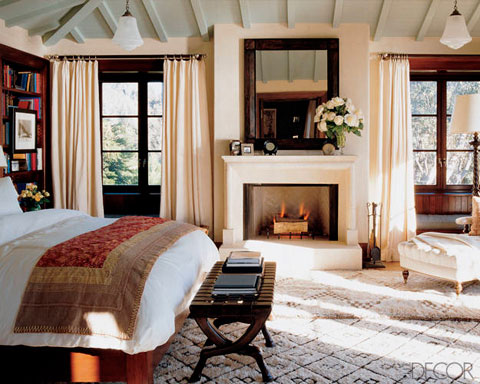 Dormitorio de Cindy Crawford