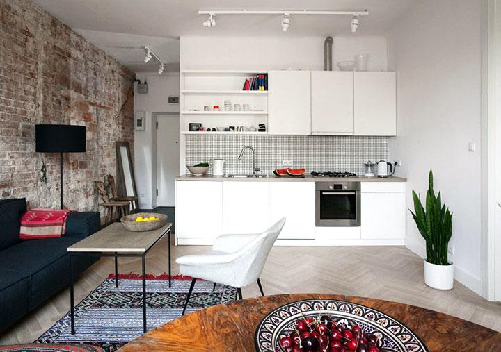 Ideas de decoración para pisos y casas pequeñas