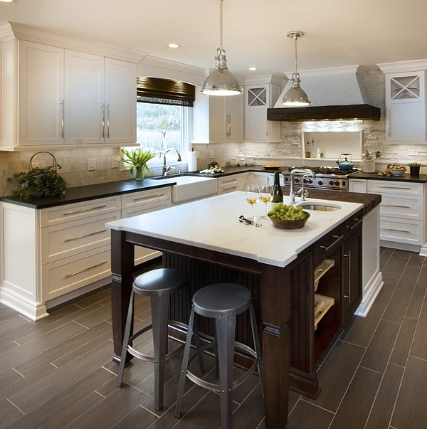 Cocinas modernas estilos 2018 decorar hogar for Estilos de cocinas integrales modernas