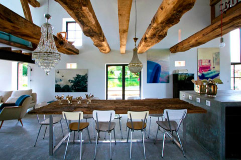Decoraci n de casas r sticas ideas y trucos decorar hogar Define contemporary country