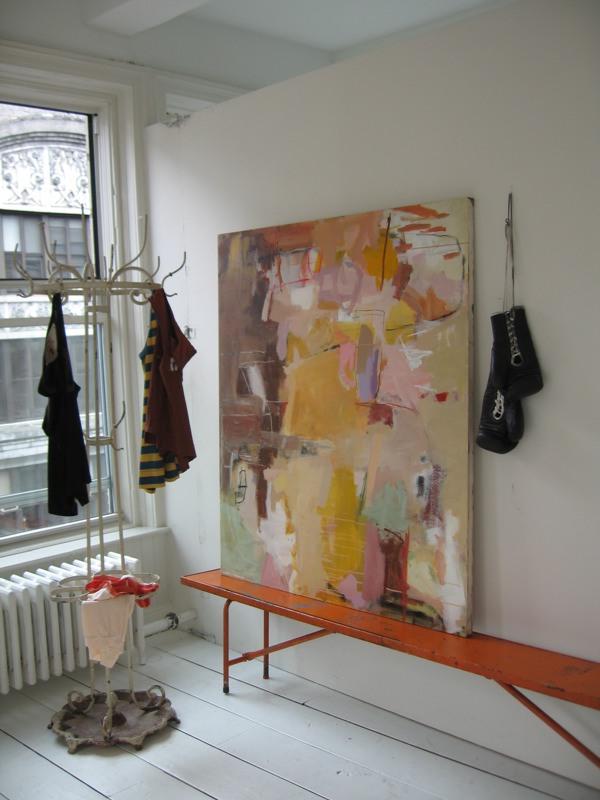 Arte moderno en cuadros abstractos