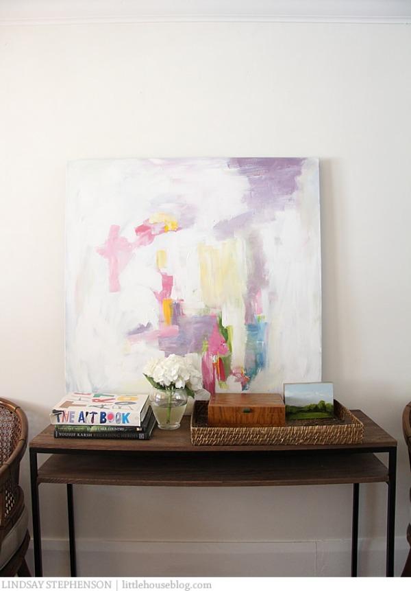 Cuadros abstractos colores tonos pastel