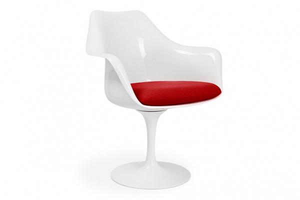 Sillón Tulipán de diseño de Eero S.