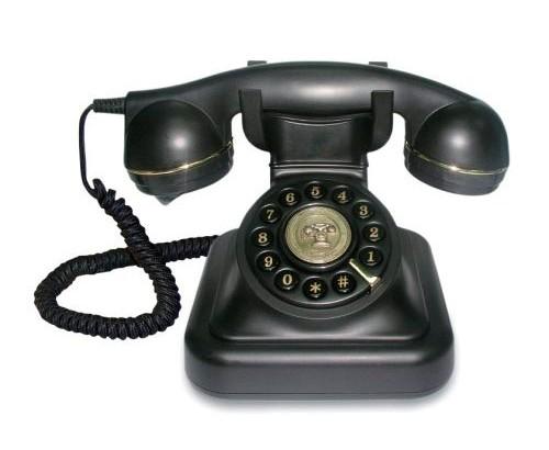 Teléfonos antiguos retro