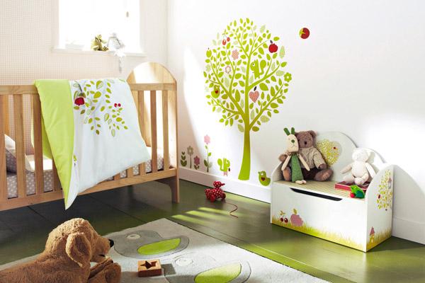 C mo decorar la habitaci n de un beb decorar hogar for Como decorar la habitacion de un bebe
