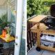 Barbacoas para balcones y terrazas pequeñas en pisos