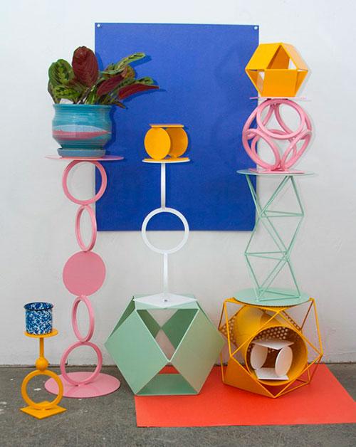 Bodegon de diseño moderno de colores
