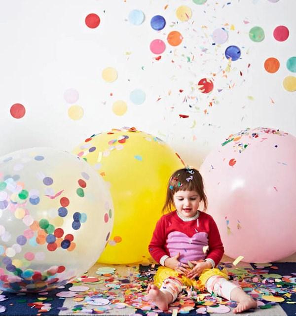 Decora tu fiesta de verano con confetis