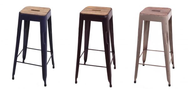 Muebles vintage de dise o online decorarhogar for Taburete estilo industrial