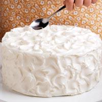 Haz picos en la tarta