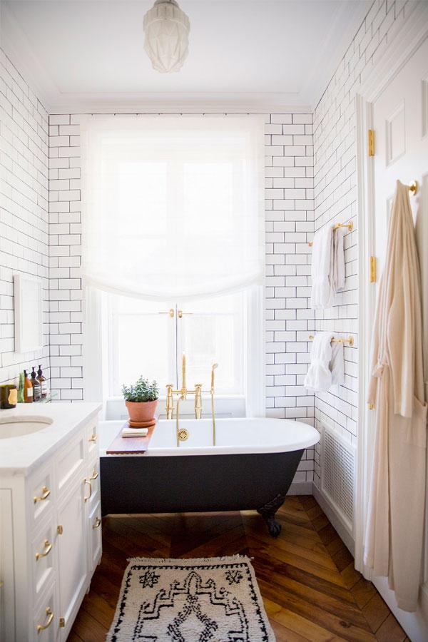 Las bañeras coloniales vintage no pasan de moda