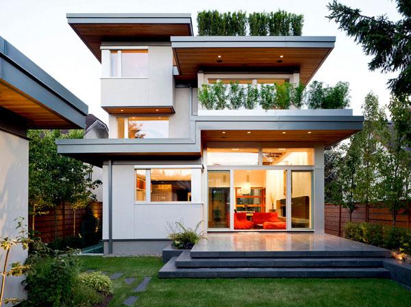 Diseño de casas sostenibles
