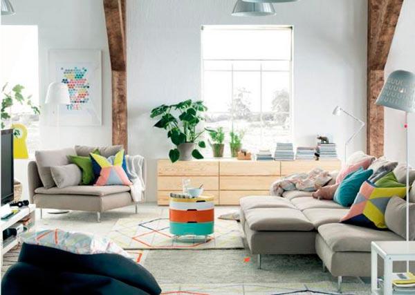 Novedades en salones Ikea para el 2015