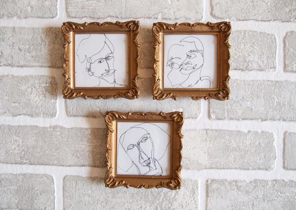 Hacer retratos inspirados en Picasso