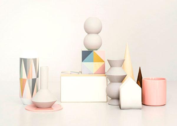 Accesorios para decoración geométrica