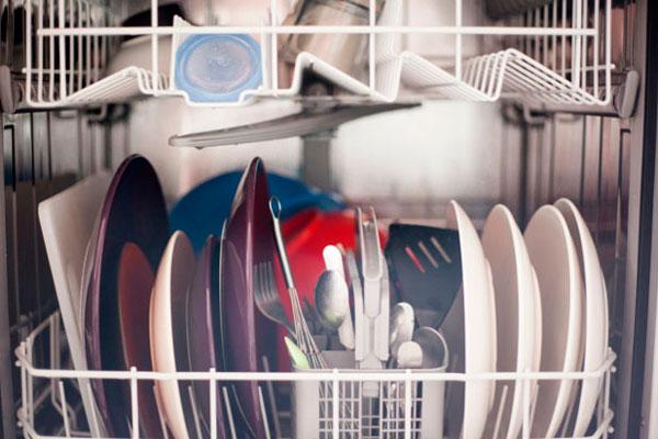 Errores al poner el lavavajillas