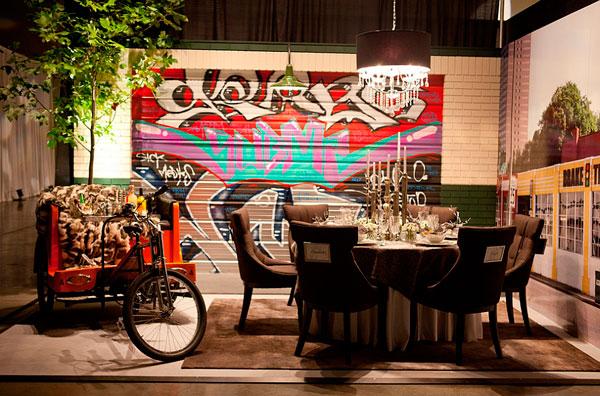 graffitis decoración callejera urbana