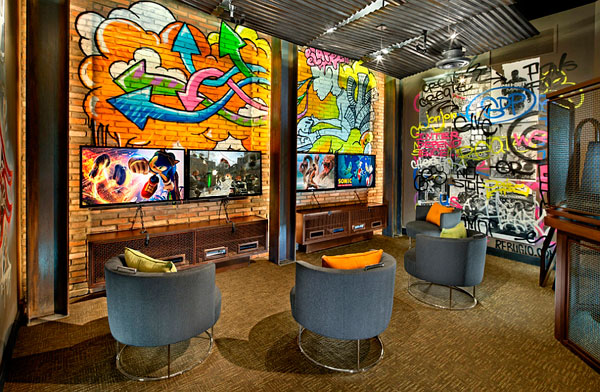Grafitis Callejeros Dentro De Casa Decorar Hogar