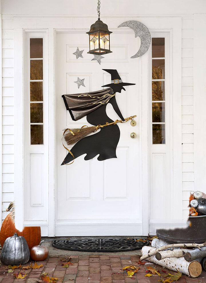 Brujas para decorar la casa en Halloween