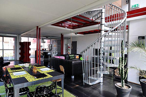 Casas dise adas con contenedores de env o decorar hogar - Casas hechas con contenedores precios ...