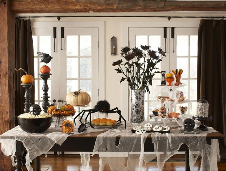 Cómo decorar fiestas en Halloween