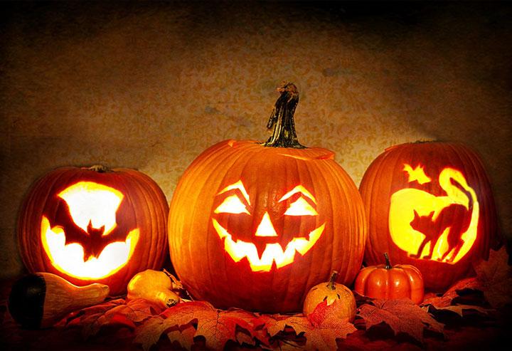 Cómo decorar Halloween con calabazas