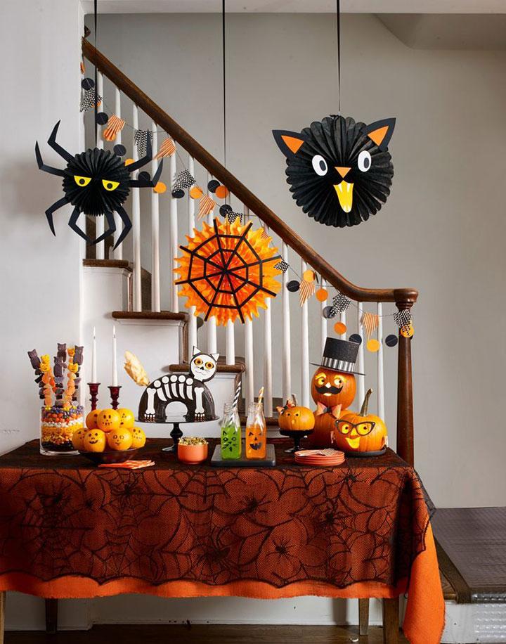 Decoraciones de Halloween para mesas