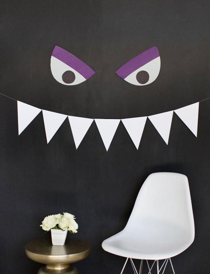 Decoraciones de Halloween para paredes