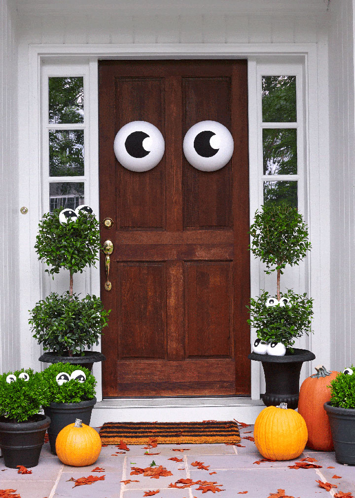 Decoraciones de Halloween para puertas
