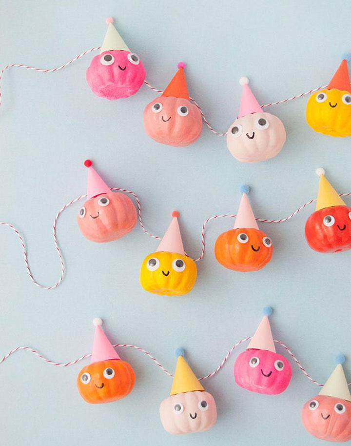 Decoraciones infantiles para Halloween
