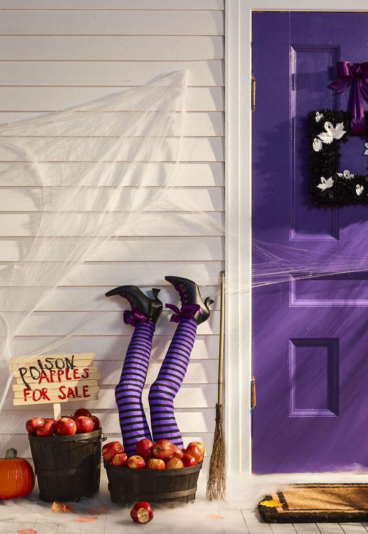 Decorar Halloween con brujas
