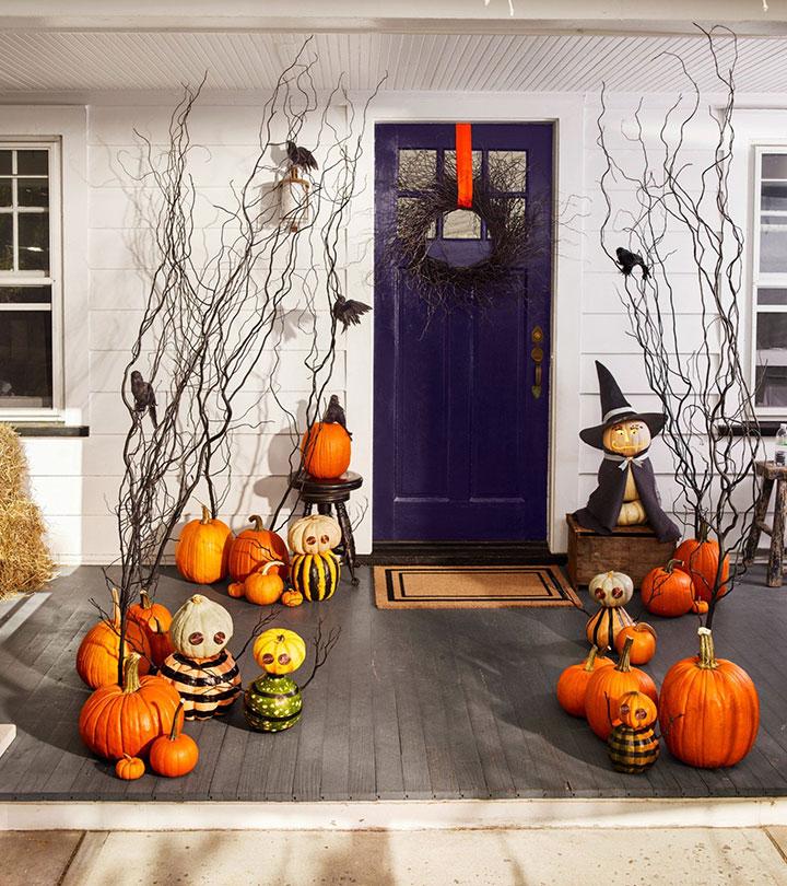 Decorar Halloween los exteriores