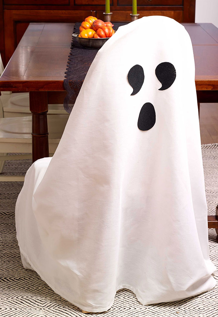 Ideas para decorar en Halloween con fantasmas