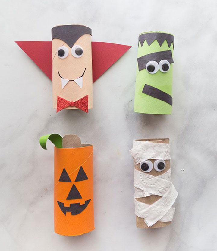 Decorar en Halloween con niños