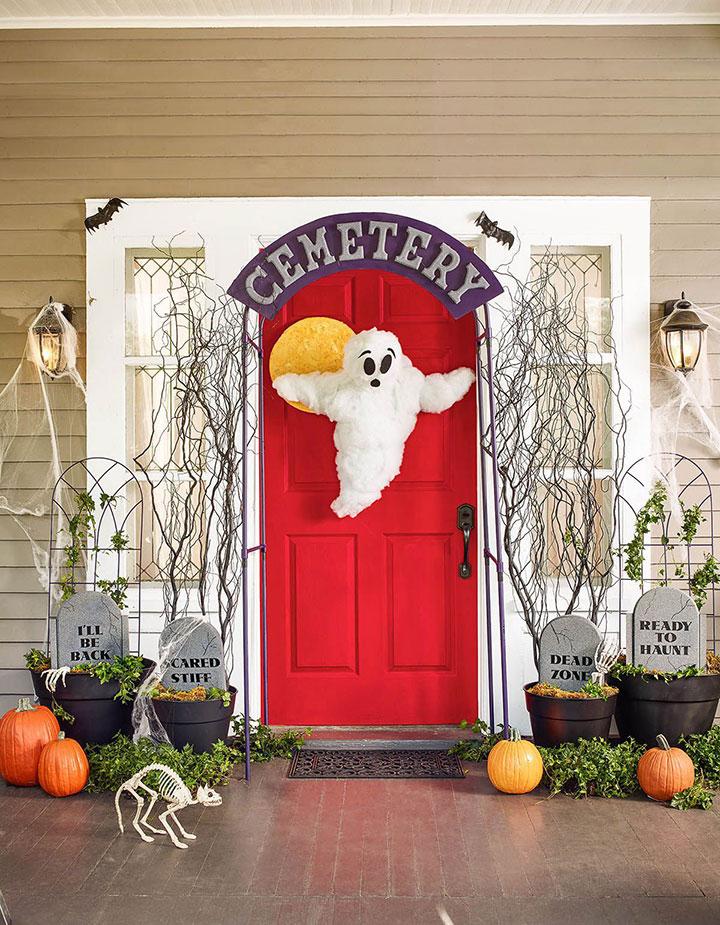 Ideas de decoración en Halloween para exteriores