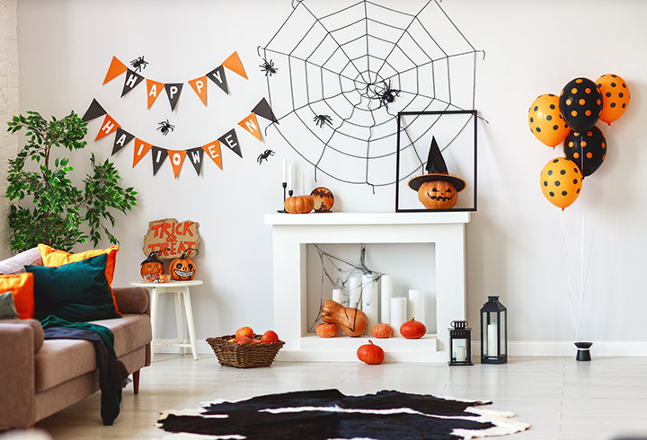 Ideas para decorar en Halloween la casa