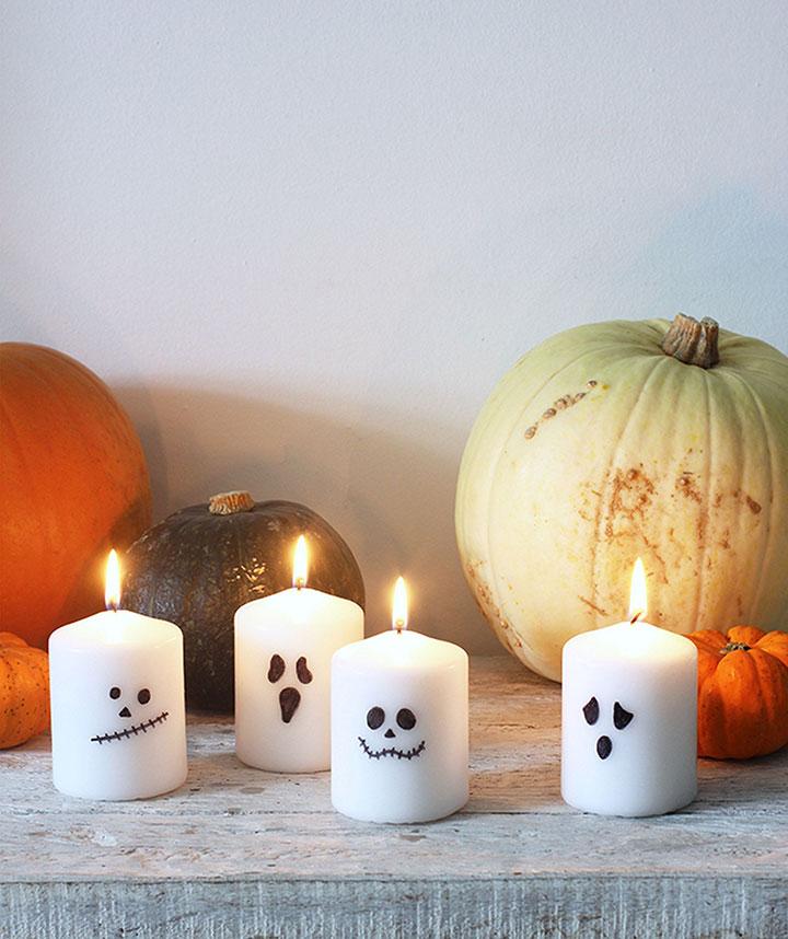 Ideas de velas para Halloween