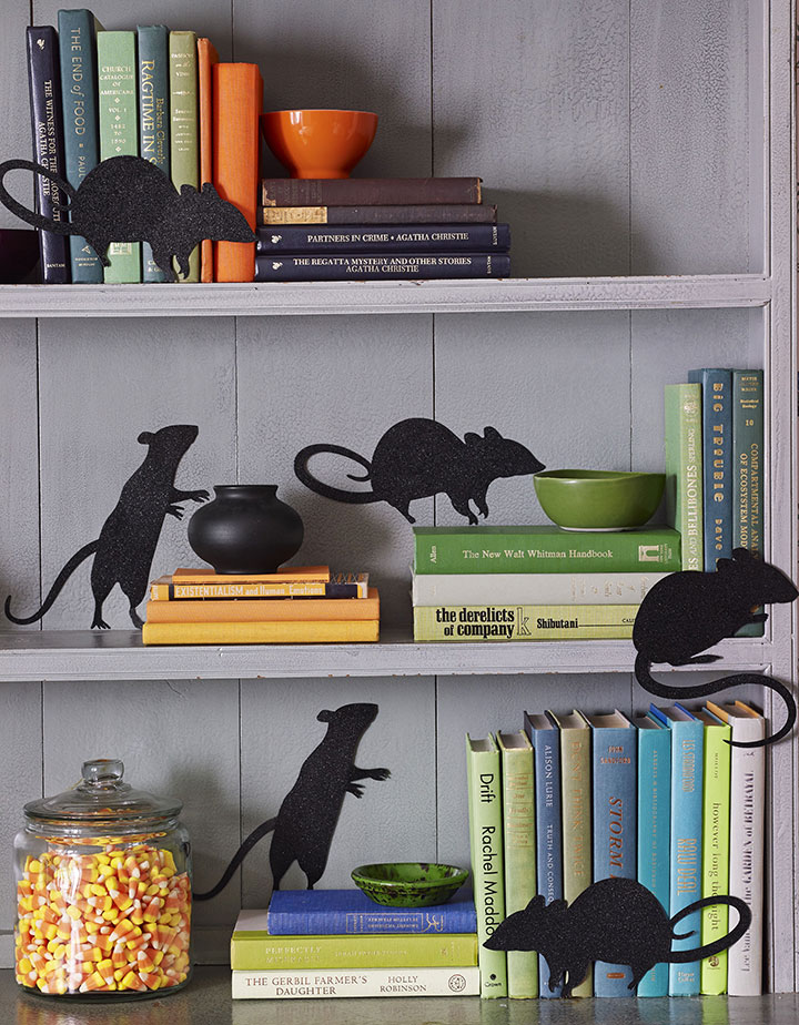 Ratas para decorar en halloween