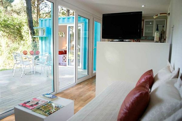 Casas dise adas con contenedores de env o decorar hogar for Decorar piso vacaciones