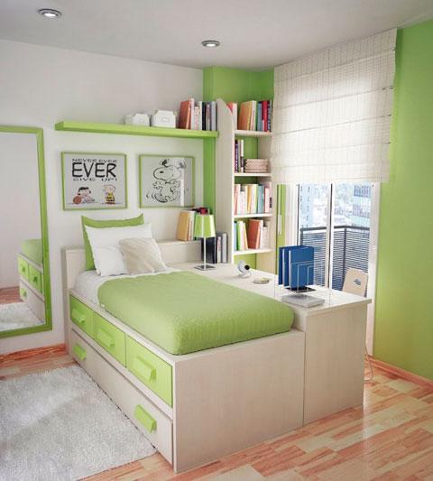 Dormitorio para ellas