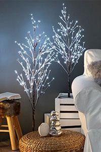 Árbol decoración navideña luminoso