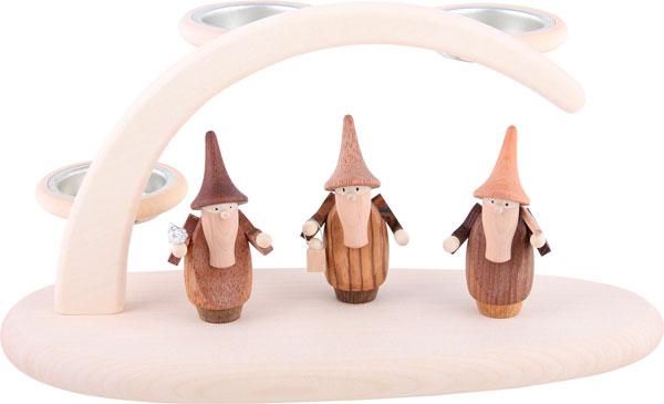 Belen con los 3 Reyes Magos muy moderno