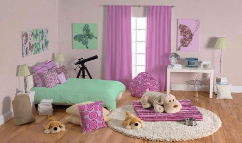 Dormitorio para chicas adolescentes