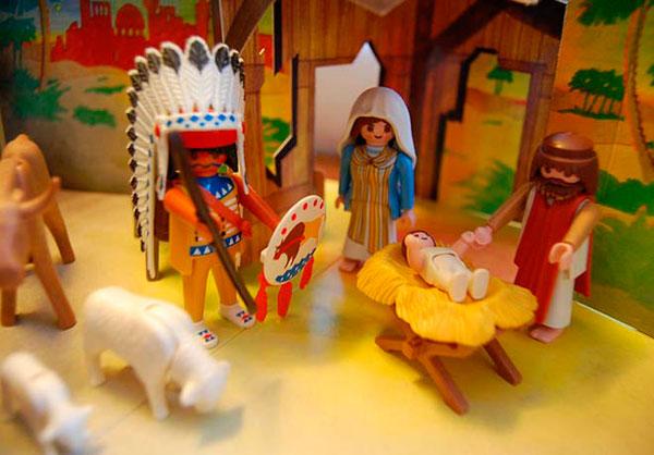 Fotos de belenes para navidad Playmobil