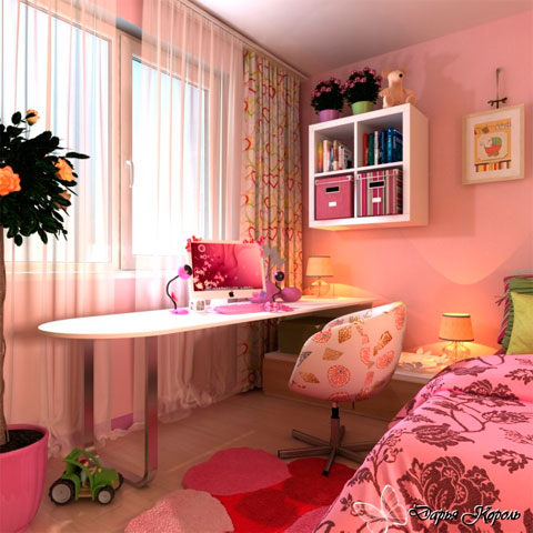Decorar habitaciones de chicas adolescentes decoracion for Disenos de cuartos para ninas adolescentes