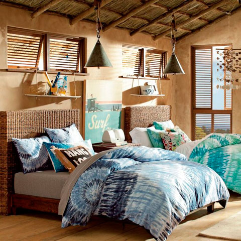 Decorar habitaciones de chicas adolescentes decoracion for Surfers bedroom design