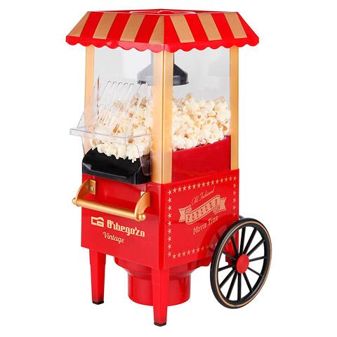Palomitero vintage carrito de feria
