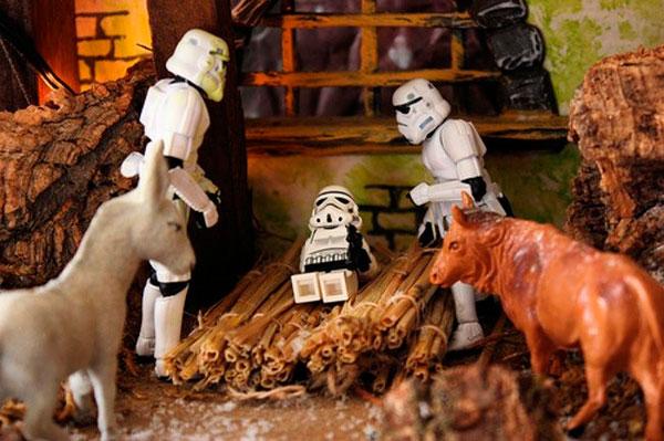 Pesebres originales Star Wars