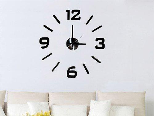 Reloj adhesivo para la pared